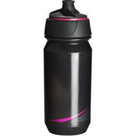 Tacx Shanti Twist Drinking Bottle 500ml smoke/fluo pink